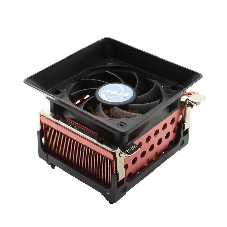 Disipador de Calor CPU  + Ventilador ASUS Socket AMD 939 FAN 3 PINES A65064-001 A113000022
