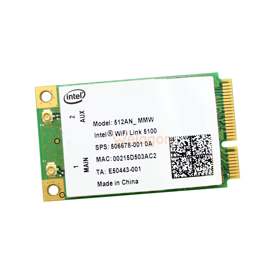 INTEL WIFI LINK 5100 DRIVER FOR PC